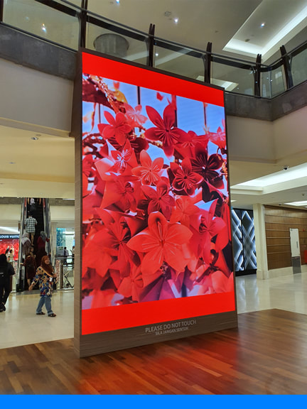 Mid Valley Garden LED Display