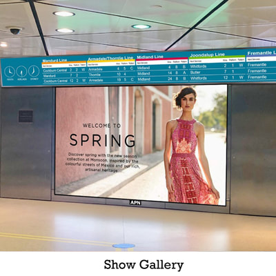 Show Gallery LED Screen