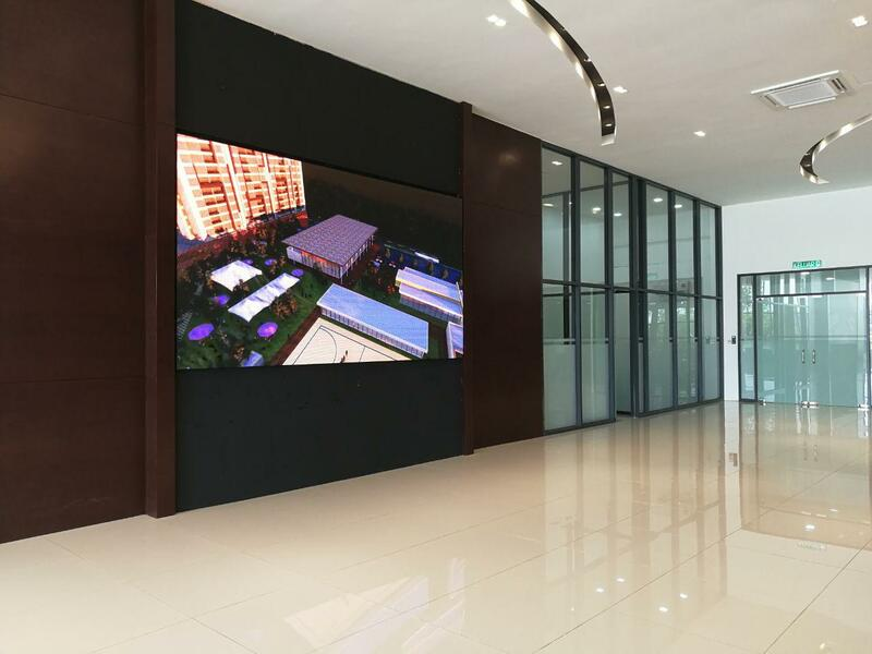 P4 led video wall