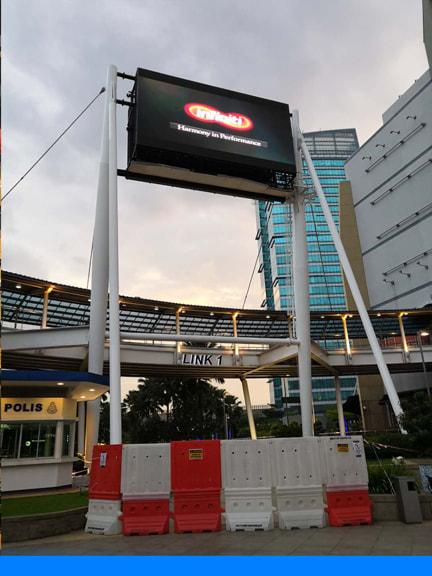 outdoor digital billboard